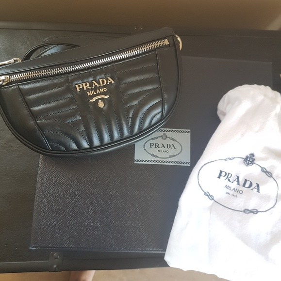 88a4d8c957243a Prada diagramme belt bag. M_5b467d30534ef99a23bb725c